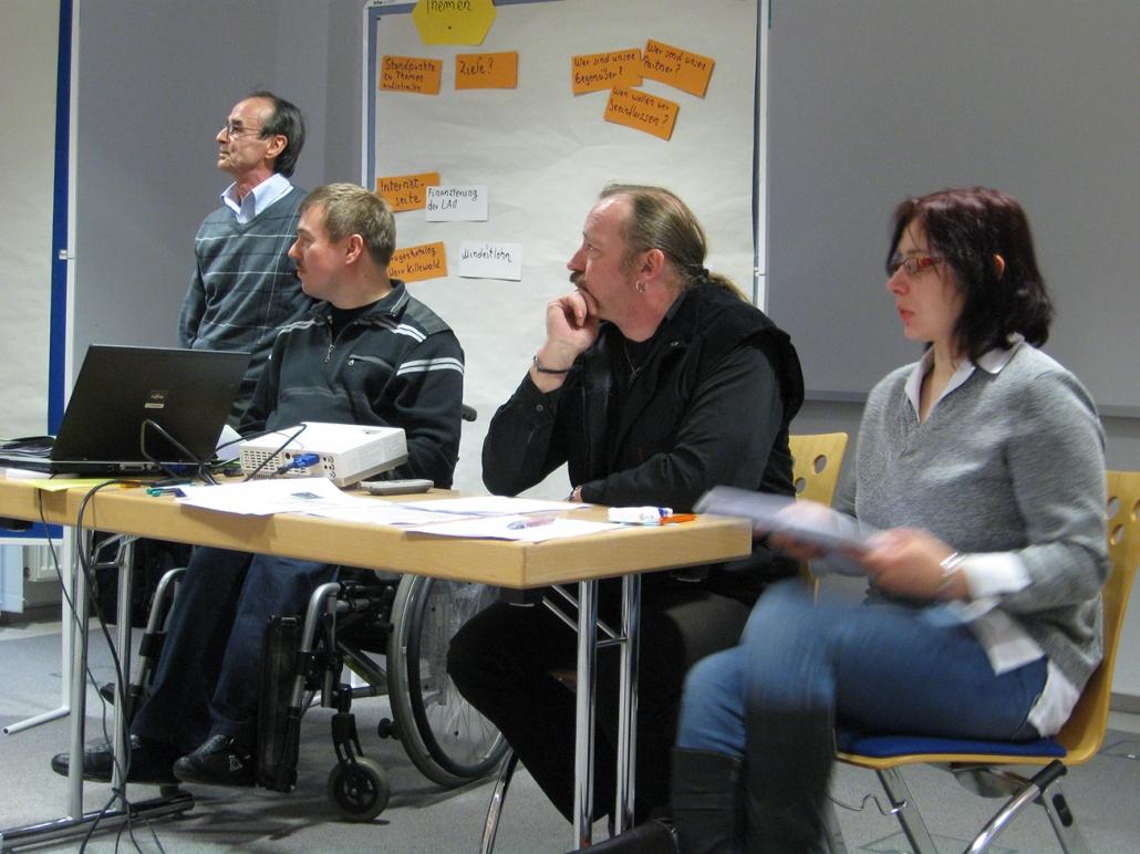 erste Klausur-Tagung 2011
