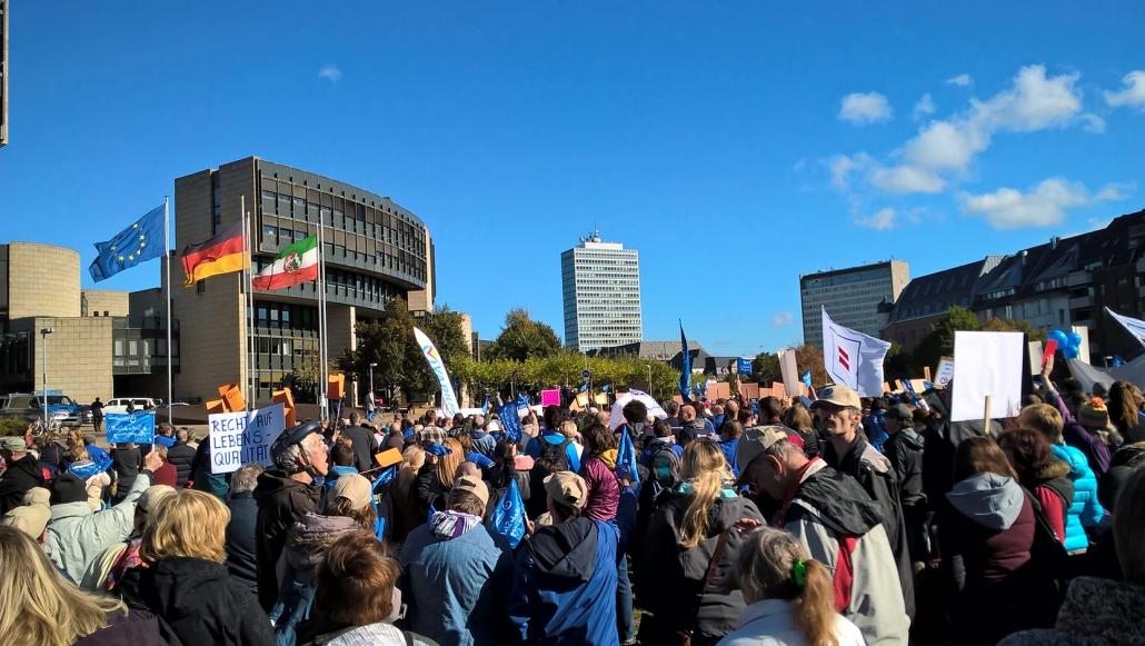 2016 Foto Demontsration Düsseldorf