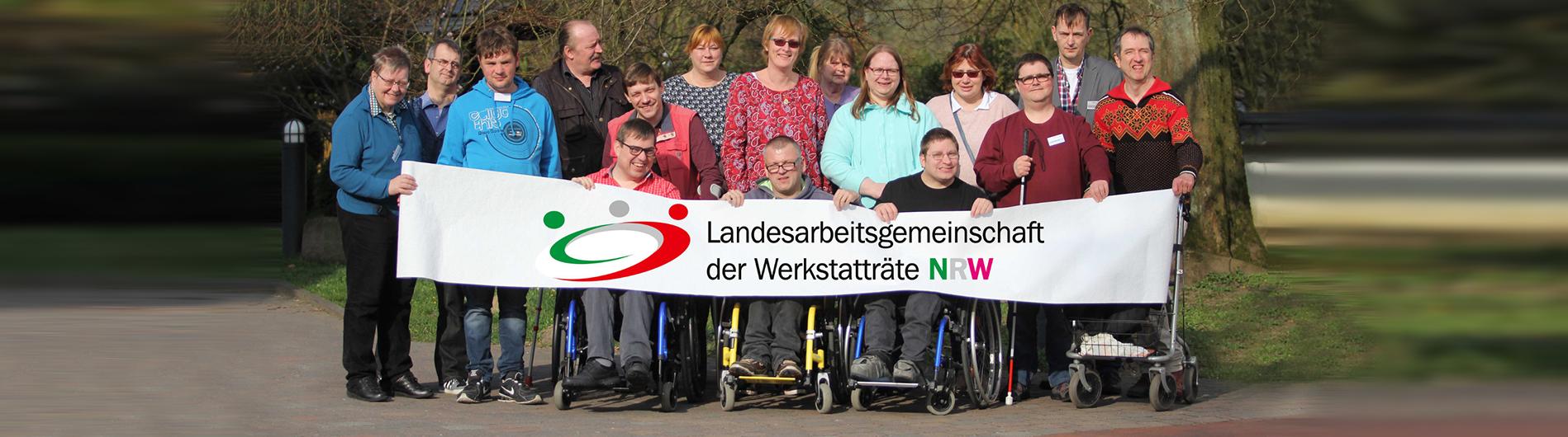 Gruppenbild NRW Werkstatträte