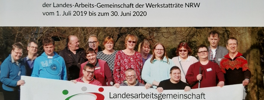 erster Jahresberichte der LAG Werkstatträte NRW