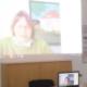 Foto von einer Videokonferenz